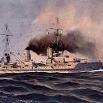 """Der Große Kreuzer SMS von der Tann von 1909 – der erste deutsche Schlachtkreuzer SMS von der Tann"""". Lizenziert unter Gemeinfrei über Wikimedia Commons."""