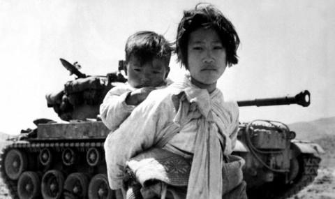 Mitten in der weltweiten Stabilisierungsphase beginnt der Koreakrieg