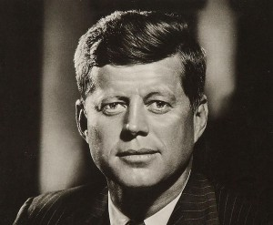 John F. Kennedy See page for author [Public domain], via Wikimedia Commons