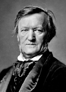 Richard Wagner (1871). Franz Hanfstaengl [Public domain], via Wikimedia Commons