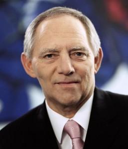 Wolfgang Schäuble (2006). By Wolfgang Schäuble (Bundestagsbüro Wolfgang Schäuble, MdB) [Public domain], via Wikimedia Commons