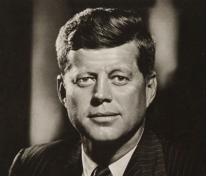 John F. Kennedy. See page for author [Public domain], via Wikimedia Commons