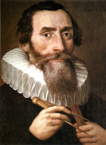 Johannes Kepler (1610). See page for author [Public domain], via Wikimedia Commons